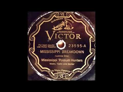 Mississippi 'Possum HuntersMississippi BreakdownVICTOR 23595