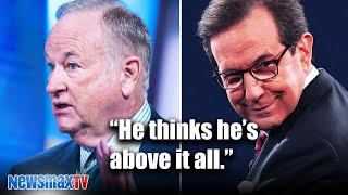 Bill O'Reilly reacts to Chris Wallace's debate chaos