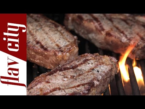 How To Grill Steak  - Grilled Steak Recipes