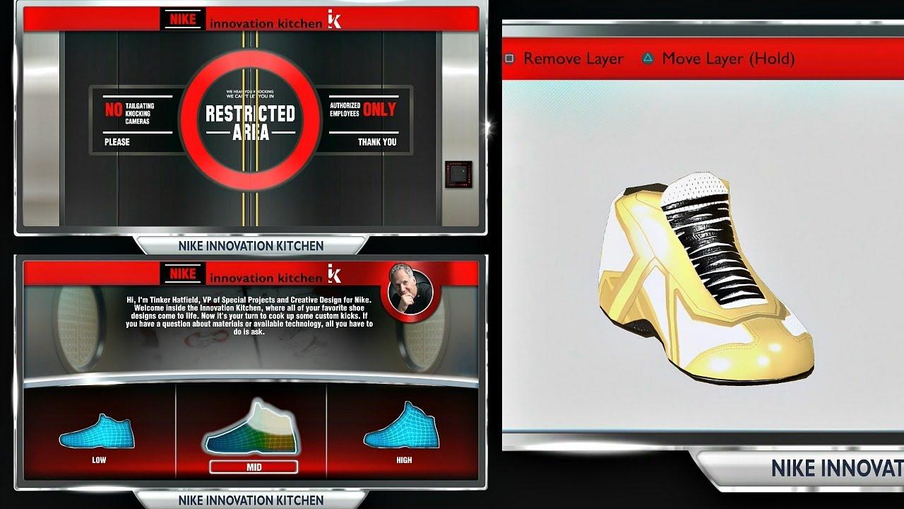 da415645d8fb NBA 2K14 Next Gen MyCAREER - Signature Shoe Creation! PS4 - YouTube