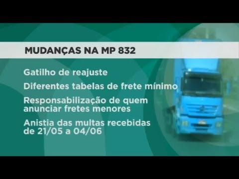 Comissão mista aprova criação da tabela do frete mínimo   04/07/2018