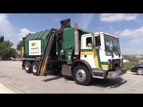 Waste Management/G.I. Industries Garbage Trucks