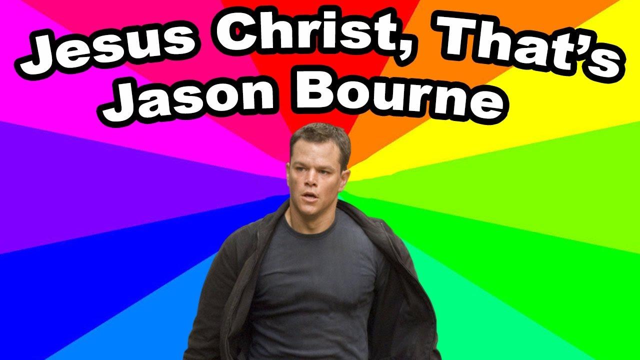 What Is Jesus Christ Thats Jason Bourne The Origin Of The Jason