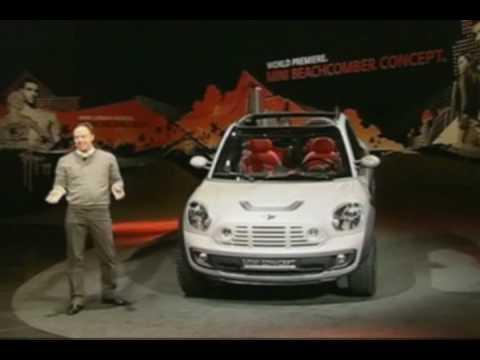 Mini Beachcomber Concept Introduction At Detroit Auto Show Youtube