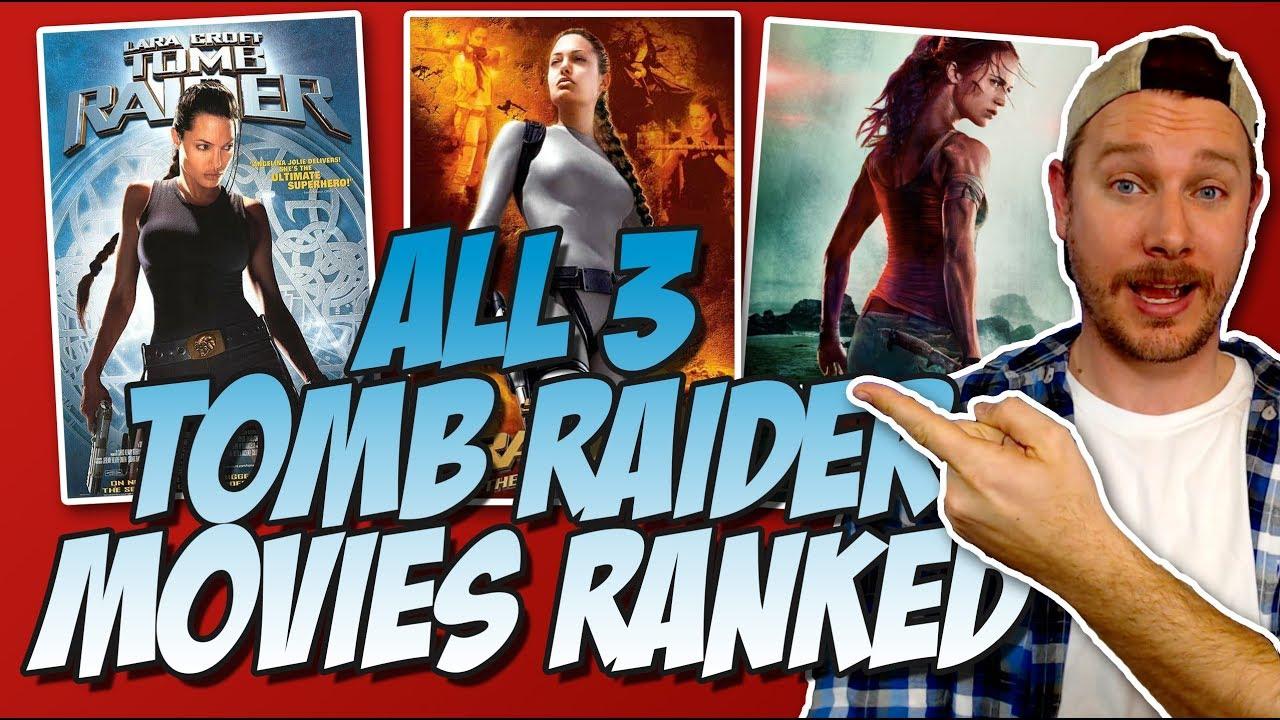 All 3 Lara Croft Tomb Raider Movies Ranked Worst To Best W