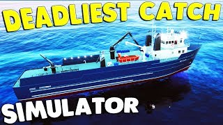 Fishing for the DEADLIEST CATCH - King Crab & New Boats | Fishing Barents Sea King Crab DLC Gameplay