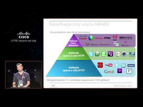 "Cisco Forum 2013: ""Flash - AVC (Application Visibility and Control)"" Mateusz Grajewski (Cisco)"