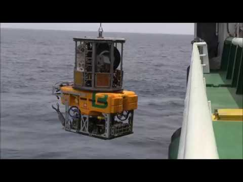 The ROV HD1 onboard the Bourbon Emerald