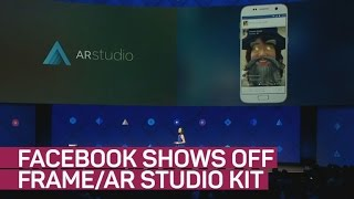 Facebook's new Frame/AR Studio kit mixes art and tech (CNET News)