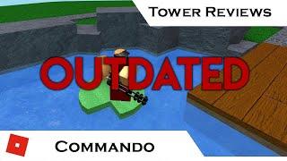 Commando | Tower Reviews | Tower Battles [ROBLOX]