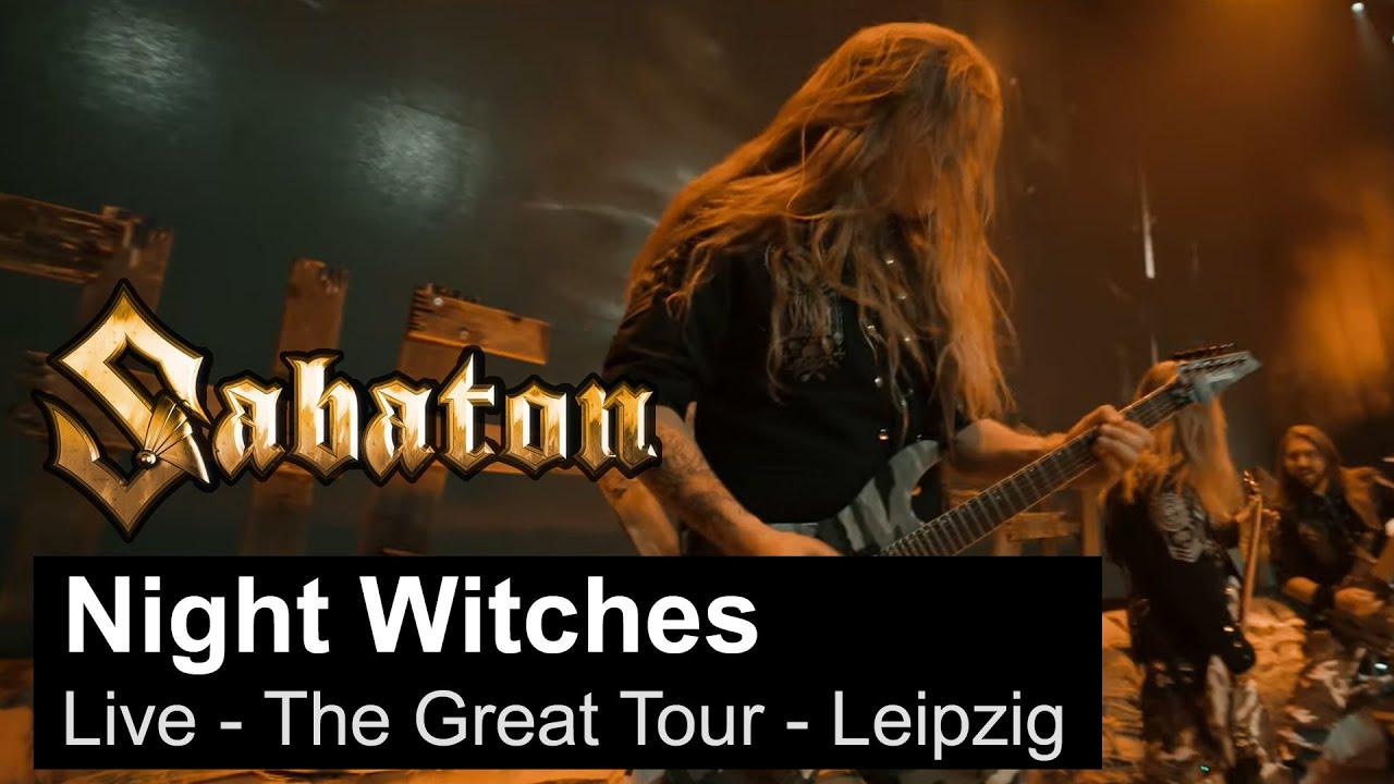 SABATON   Night Witches Live   The Great Tour   Leipzig