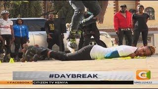 WORKOUT WEDNESDAY | Roller-Skating Craze #DayBreak #WorkoutWednesda...