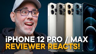 iPhone 12 Pro & iPhone 12 Pro Max — In-Depth Reaction!