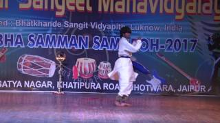 Khatak Dance Performed by Student of Jaipur Sangeet Mahavidyalaya c