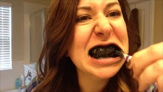 Teeth Whitening using Activated Charcoal