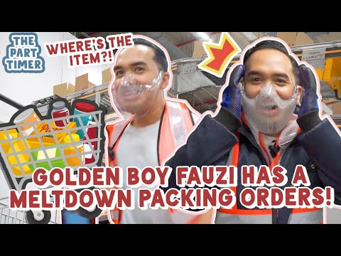The Part Timer: Fauzi Packed Your RedMart Orders Under Extreme Temperatures