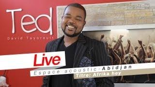David Tayorault (TED) - Afrika Hey (Live Espace Acoustic 2011)