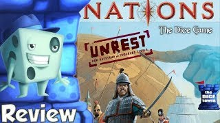 Nations: The Dice Game - Unrest Review - with Tom Vasel