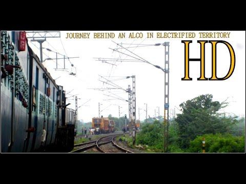 Diesel Hauled Train Under Wires : On Board the Divine Balaji Express