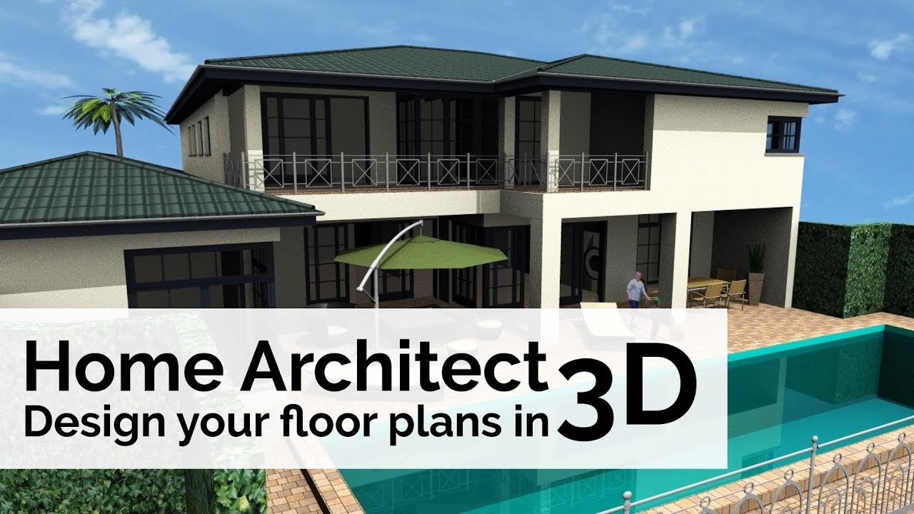 Home Architect Design Your Floor Plans In 3d Youtube