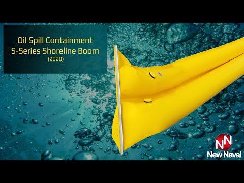 Oil Spill Containment S-Series Shoreline Boom