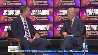 Jeopardy host Alex Trebek shares his story with Brian Loftus