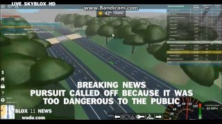 Blox News Pursuit Suspect on the Loose (ROBLOX) Part 1