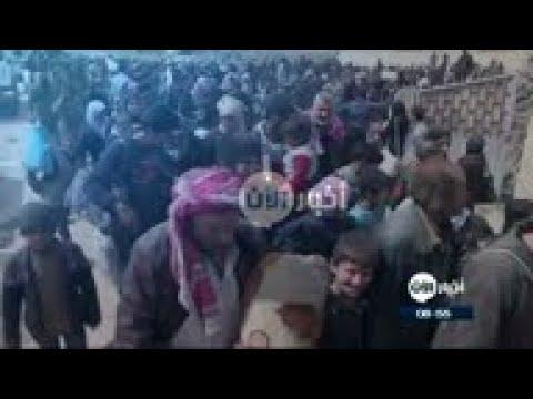 الأمم المتحدة: مراكز إيواء نازحي الغوطة وضعها مأساوي  - 08:23-2018 / 3 / 22