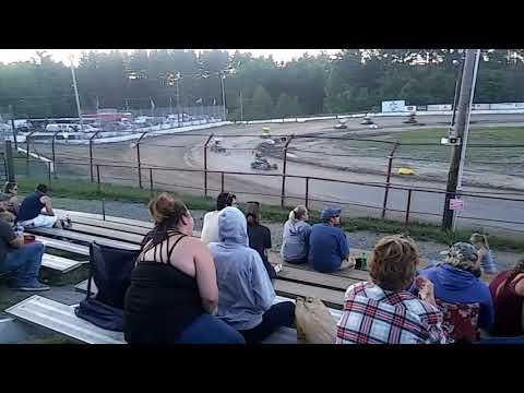 Bear Ridge Speedway 7/7/18. 500cc.   Granite State Mini Sprint Feature race.