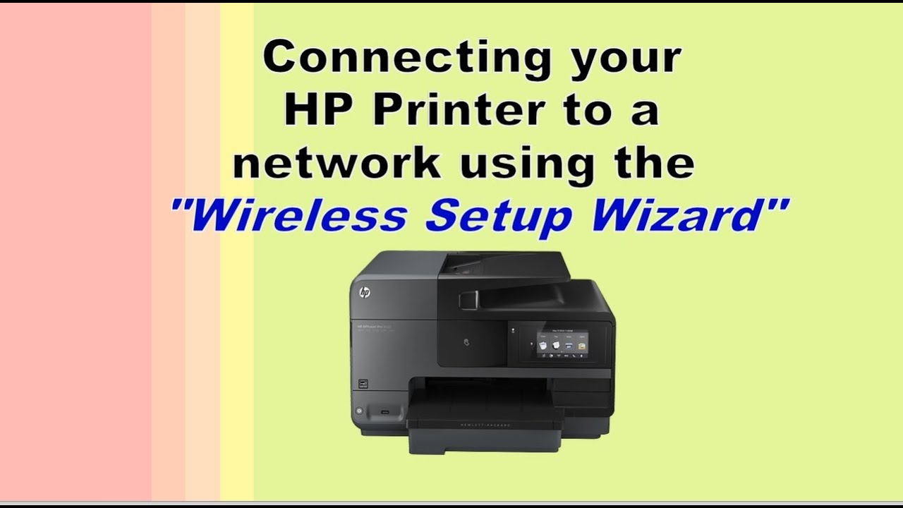 Connecting Printer To A Network Using Quot Wireless Setup