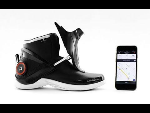 THEY'RE NOT JUST SELF LACING, THESE SMARTSHOES WARM YOUR TOES, TOO