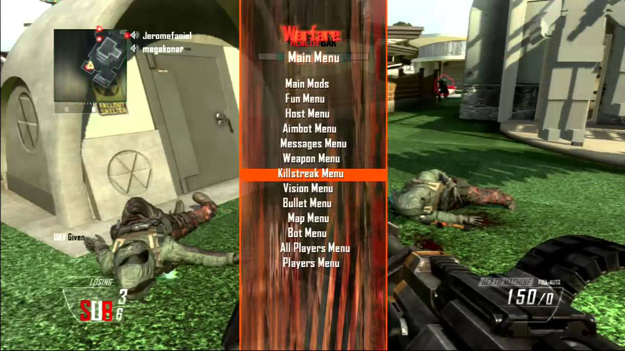 Top 5 [Bo2/1 19] GSC Mod Menus (XBOX, PC & Ps3) #1