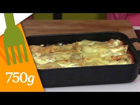 recette-de-lasagnes-végétariennes---750g