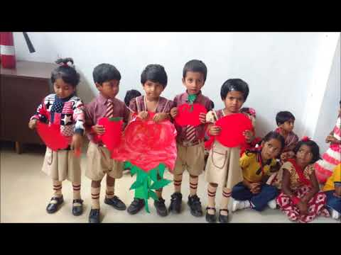 Red day  celebration @ Princeton Public School, Bangaluru