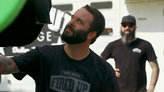 How Will The Fired Up Crew React To This Unexpected Paint Job? | Misfit Garage