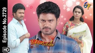 Manasu Mamata | 18th October 2019  | Full Episode No 2729 | ETV Telugu
