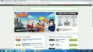 Código de Ativação #Naruto Online