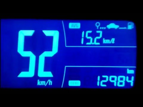 Speedometer Mid Chevrolet Spin 15 Mt Gasoline Indonesia Time