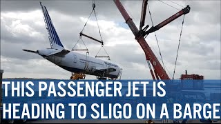 This Jet Is Making Its Way To Sligo On A Barge
