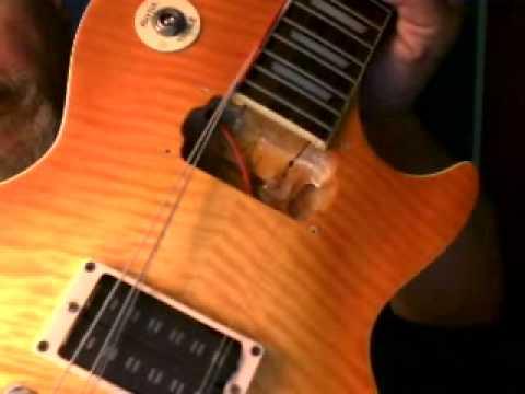 1996 Epiphone Les Paul Long Tenon Guitar Review Amp Demo