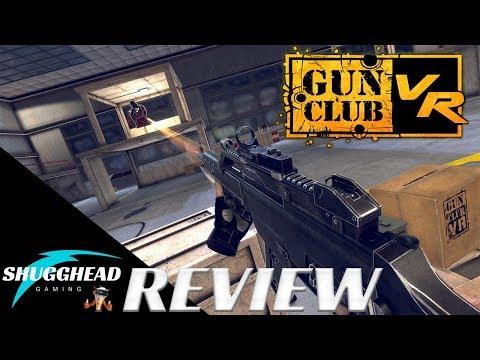 Gun Club VR - PSVR Review: Realistic Gun Mechanics in VR! | PS4 Pro Gameplay Footage