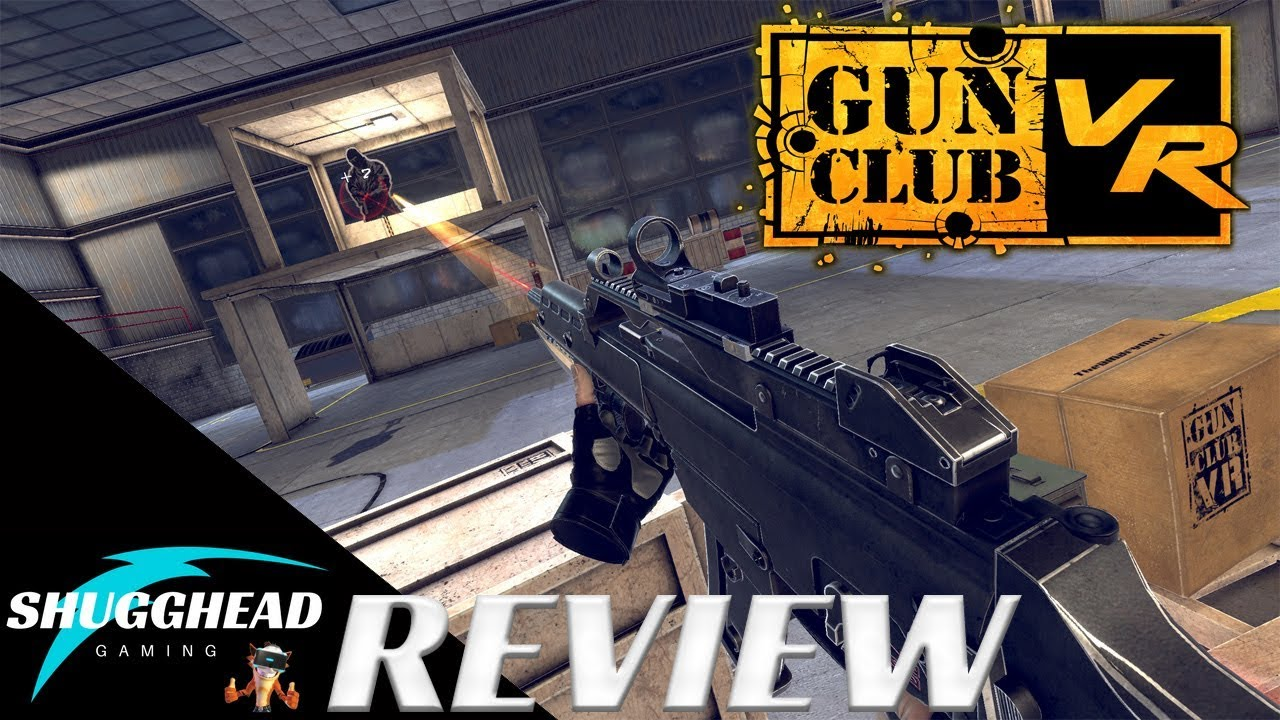 Gun Club Vr Psvr Review Realistic Gun Mechanics In Vr Ps4 Pro Gameplay Footage Youtube