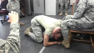 Fucking around in the army