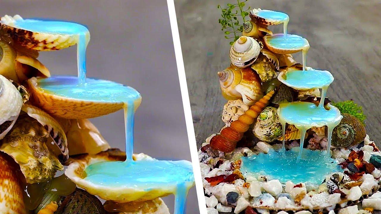 3 Incredible Diys With Seashells Youtube