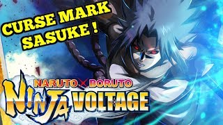 Curse Mark Sasuke Arrives !  - Naruto x Boruto Ninja Voltage