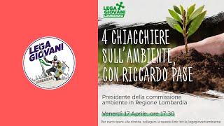Conferenza Lega Giovani Lombardia - Riccardo Pase