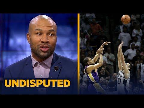Derek Fisher breaks down his epic 2004 game-winner, talks Lakers' point guards   NBA   UNDISPUTED
