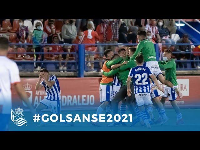 #GOLSANSE2021   Los goles marcados por el Sanse durante la temporada 20-21   Real Sociedad