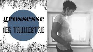 GROSSESSE - 1er TRIMESTRE // migraines & paperasses