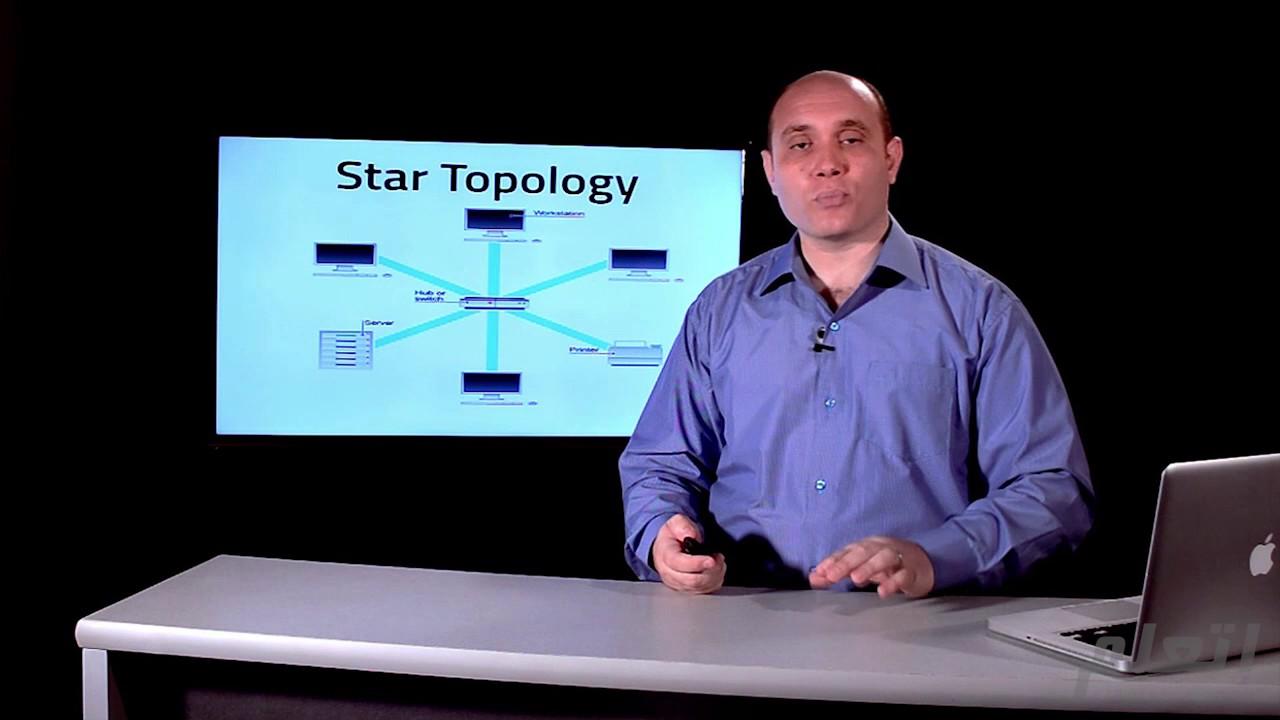 طوبولوجيا الشبكة | اساسيات الشبكات